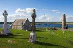 Okolí kláštera Clonmacnoise