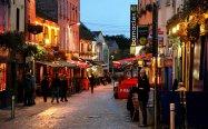 Uličky v městečku Galway