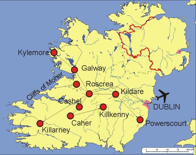 Zajezdy Do Irska Irsko Cestovani Informace A Dovolena V Irsku